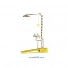 洗眼器-304脚踏排空防冻洗眼器- YP-400